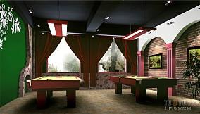 美式风格餐厅图大全