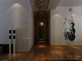 现代80平米2室一厅效果图