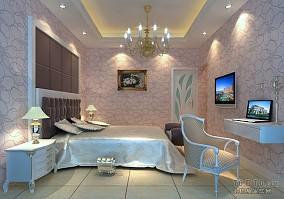 110平三室两厅卧室设计