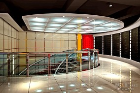 顶级KTV楼梯装修效果图