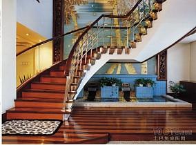 写字楼办公楼大厅楼梯装修效果图