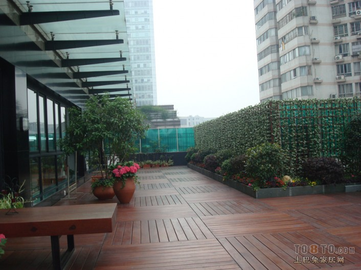 福雷德广场 东南亚风格休闲区装修效果图