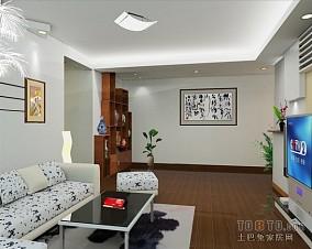 朴质一室一厅变两室一厅图片
