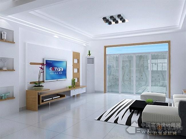 现代风格客厅装修效果图 单张展示 江南水乡装修效果图 小徐作品高清图片