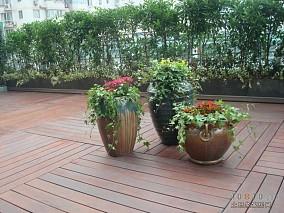 现代时尚大宅花园设计效果图