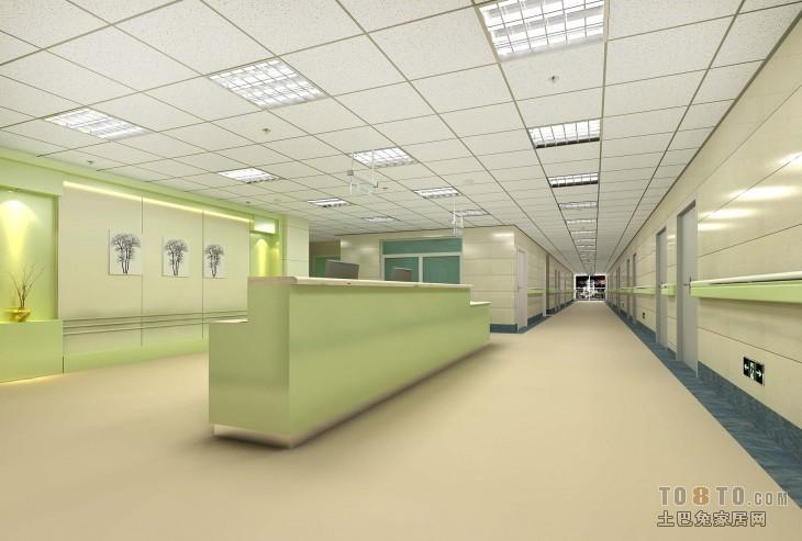 医院设计装修效果图 单张展示 装修效果图 cat作品高清图片