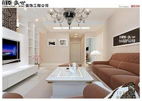 77平米简约小户型休闲区装修图