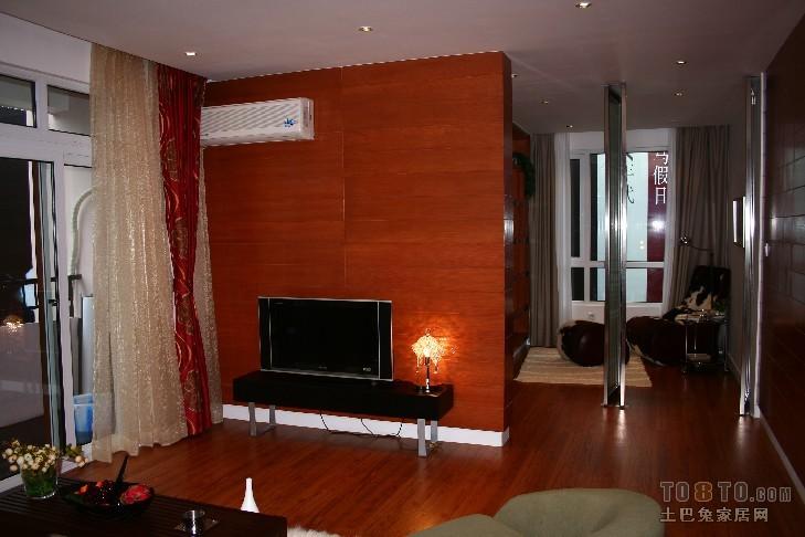 华亭国际二室二厅一卫装修案例效果图 90平米设计 高清图片