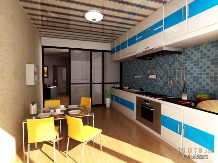 后現代風格廚房裝修效果圖
