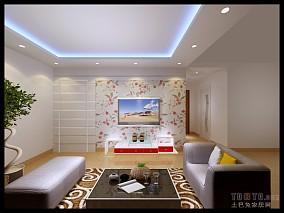 质朴28平混搭小户型客厅装饰图
