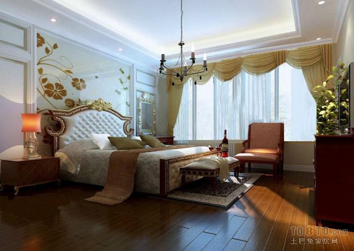 温馨93平混搭四居卧室装饰美图卧室潮流混搭卧室设计图片赏析