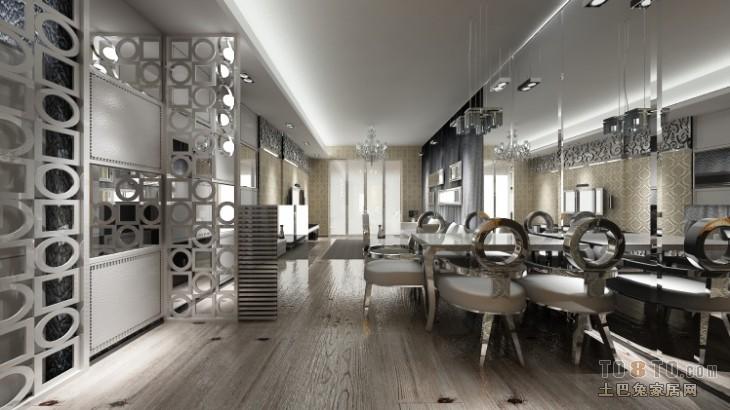 平混搭二居客厅装饰美图客厅潮流混搭客厅设计图片赏析