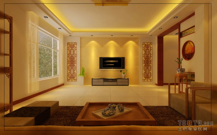 01View05客厅潮流混搭客厅设计图片赏析