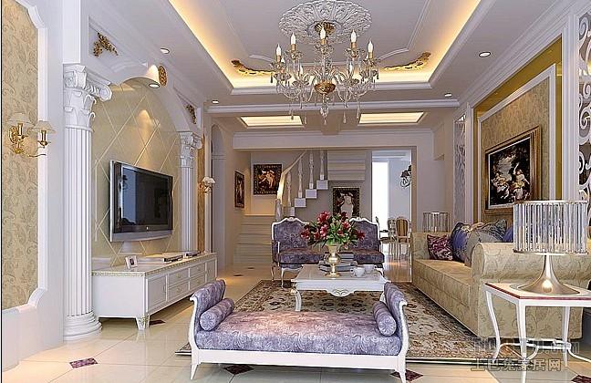 90平方三居客厅混搭装修图片客厅潮流混搭客厅设计图片赏析