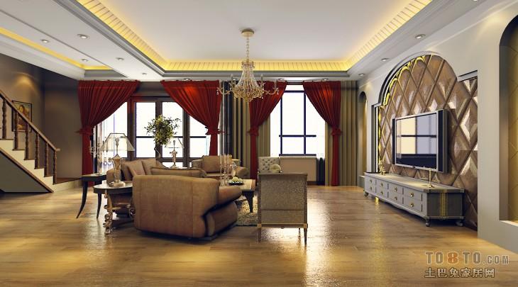 欧式客厅墙面线条