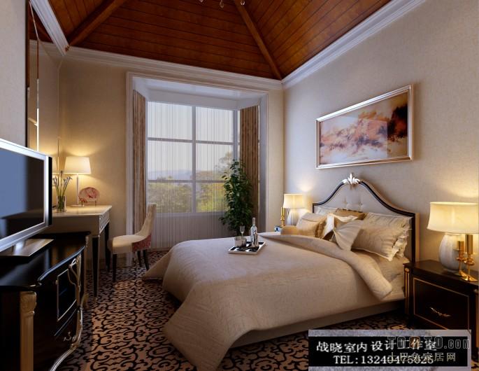 次卧卧室潮流混搭卧室设计图片赏析