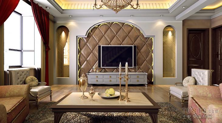 精选119平米混搭复式客厅设计效果图客厅潮流混搭客厅设计图片赏析