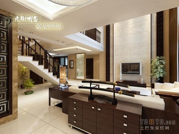 009别墅设计C3客厅潮流混搭客厅设计图片赏析