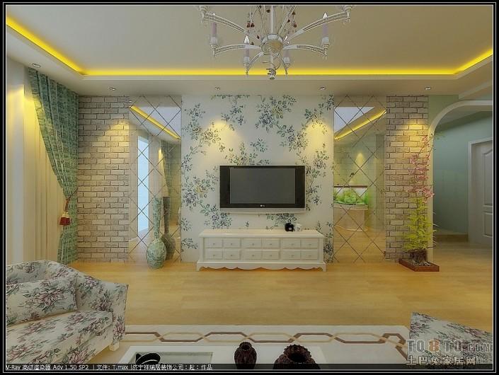 2018精选93平大小客厅三居混搭设计效果图客厅潮流混搭客厅设计图片赏析