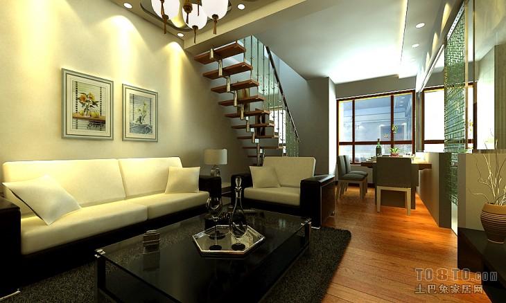 平米混搭复式客厅装修图片欣赏客厅潮流混搭客厅设计图片赏析