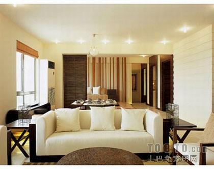 优美101平混搭三居客厅设计图客厅潮流混搭客厅设计图片赏析