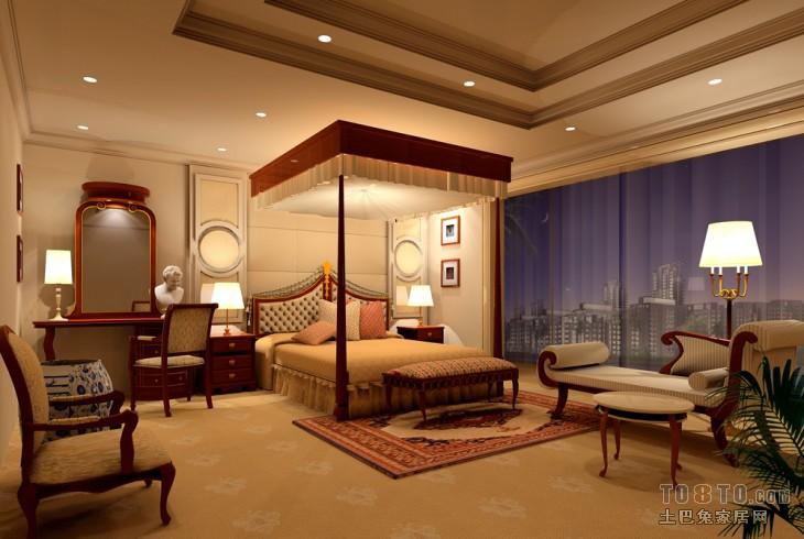 卧室1客厅潮流混搭客厅设计图片赏析