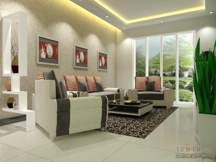 精美84平混搭二居客厅装修实景图片欣赏客厅潮流混搭客厅设计图片赏析