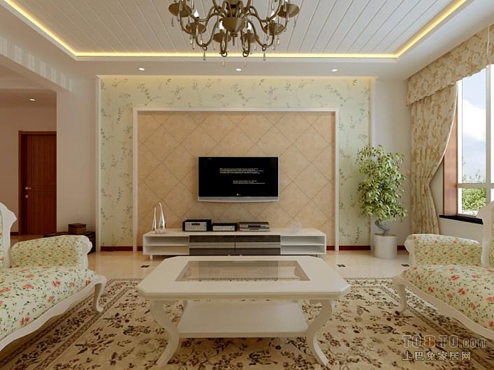 精选大小82平混搭二居客厅效果图片欣赏客厅潮流混搭客厅设计图片赏析