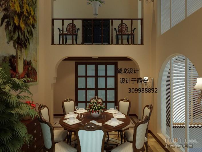 餐厅2厨房潮流混搭餐厅设计图片赏析
