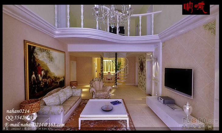 热门124平米混搭复式客厅实景图片客厅潮流混搭客厅设计图片赏析