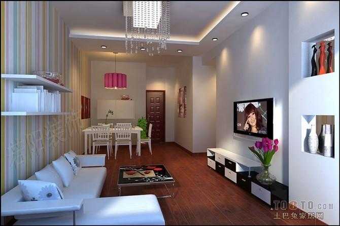 热门87平米二居客厅混搭实景图片客厅潮流混搭客厅设计图片赏析