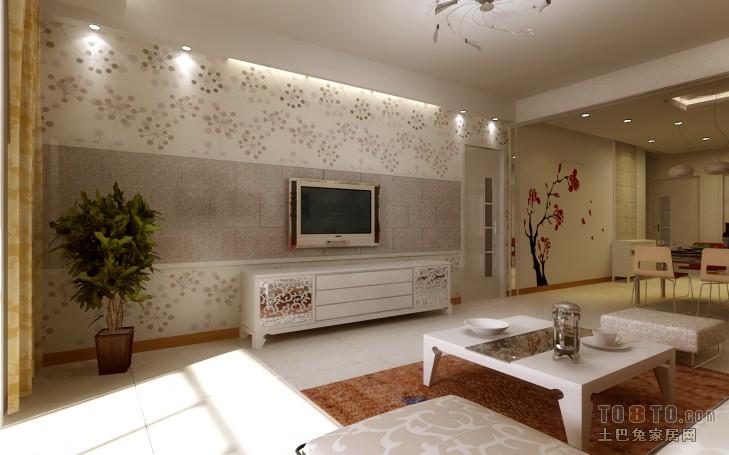 精美混搭3室客厅装修效果图片大全104平客厅潮流混搭客厅设计图片赏析