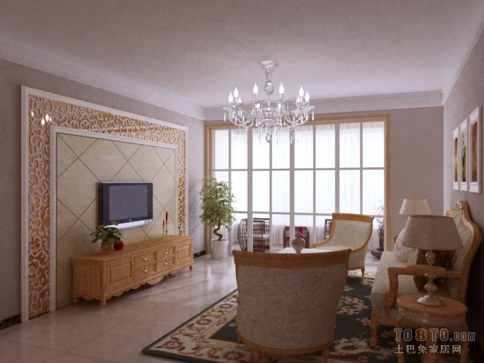 简洁95平混搭三居客厅案例图客厅潮流混搭客厅设计图片赏析