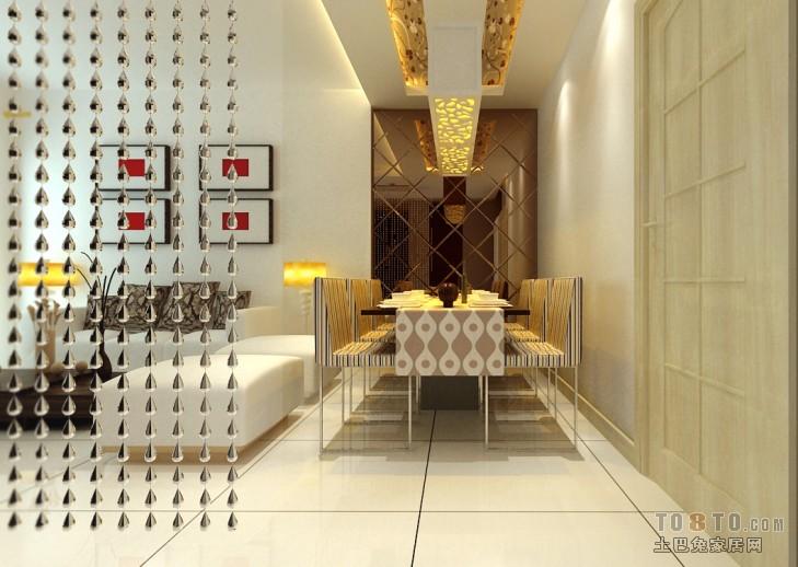 2018混搭二居餐厅装修欣赏图片大全厨房潮流混搭餐厅设计图片赏析