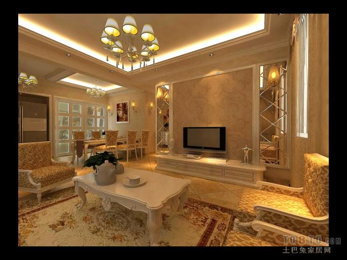 热门98.8平米3室客厅混搭装修效果图客厅潮流混搭客厅设计图片赏析