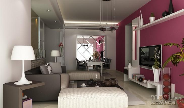 大小83平混搭二居客厅装饰图片客厅潮流混搭客厅设计图片赏析