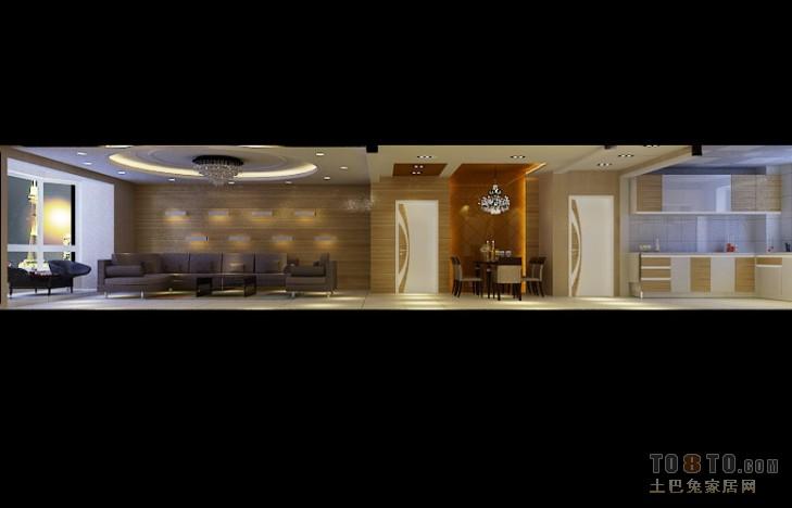 103平米三居混搭设计效果图客厅潮流混搭客厅设计图片赏析