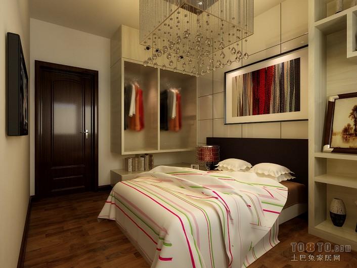 温馨82平混搭三居卧室装修装饰图卧室潮流混搭卧室设计图片赏析