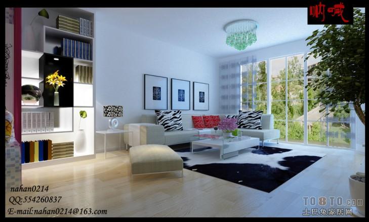 热门面积107平混搭三居客厅装修效果图片大全客厅潮流混搭客厅设计图片赏析