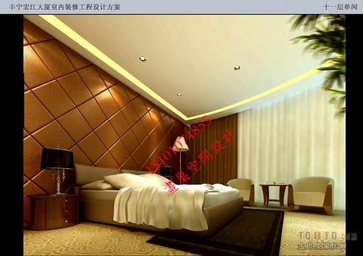 034方案效果图十一层单间酒店空间其他设计图片赏析