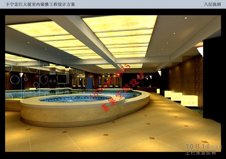 024方案效果图八层洗浴副本酒店空间其他设计图片赏析