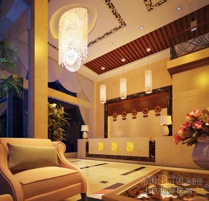 大堂1酒店空间其他设计图片赏析