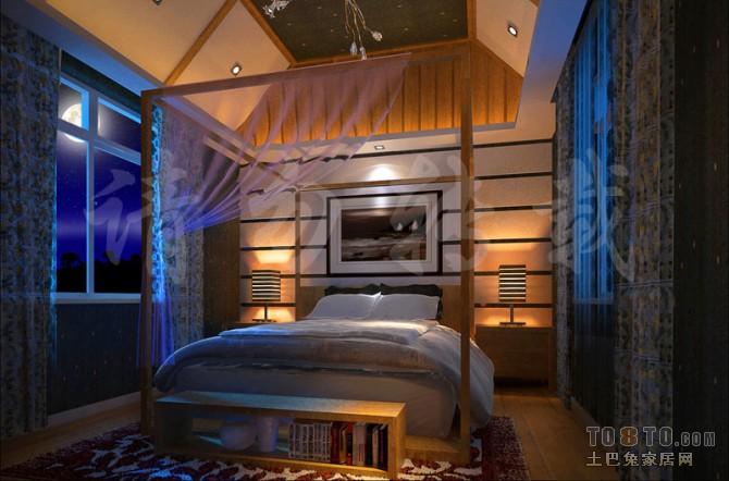 卧室51卧室潮流混搭卧室设计图片赏析