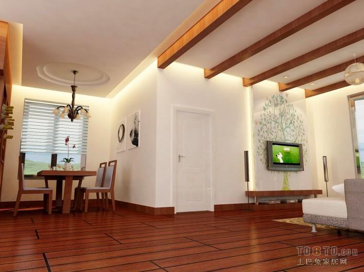 平方三居客厅混搭装修图片大全潮流混搭设计图片赏析