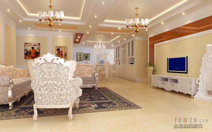 2018精选91平米3室混搭装修效果图客厅潮流混搭客厅设计图片赏析