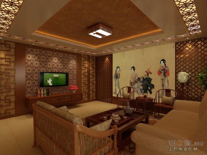 精美95平大小混搭三居装修效果图片客厅潮流混搭客厅设计图片赏析