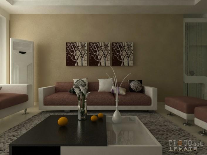优美73平混搭三居客厅实拍图客厅潮流混搭客厅设计图片赏析