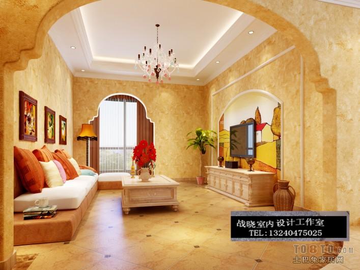 平米混搭复式客厅实景图片大全客厅潮流混搭客厅设计图片赏析