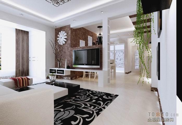 精选72平混搭二居客厅装修图片欣赏客厅潮流混搭客厅设计图片赏析