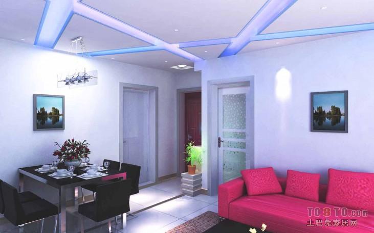 热门面积76平混搭二居客厅装修欣赏图片大全客厅潮流混搭客厅设计图片赏析